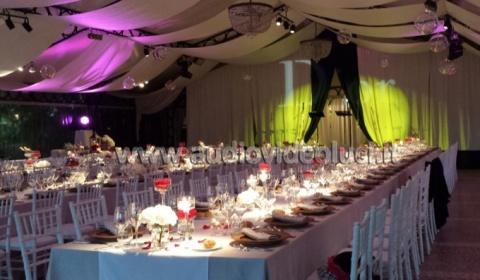 Noleggi per Cerimonie, noleggi per matrimoni, Gala Services, Lago Maggiore, Illuminazione per serate